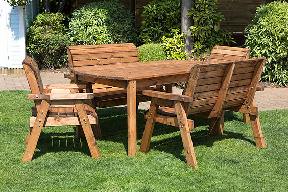 Outdoor Furniture For Small Gardens: Shed Centre Wales :: Wooden Garden Furniture