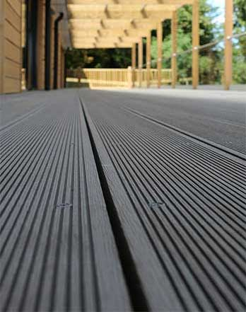 Shed Centre Wales :: Composite Decking